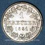 Monnaies Bavière. Maximilien II Joseph (1848-64). 1 kreuzer 1861