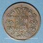 Monnaies Bavière. Maximilien II Joseph (1848-64). 1 pfennig 1861