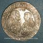 Monnaies Brandebourg-Franken. Georges-Frédéric et Albrecht (1527-1545). Taler 1539. Schwabach