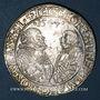 Monnaies Brandebourg-Franken. Georges-Frédéric et Albrecht (1527-1545). Taler 1544. Schwabach