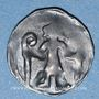 Monnaies Brandebourg. Margraviat. Louis VI le Romain et Othon le Paresseux (1352-1365). Denier, vers 1363-65