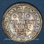 Monnaies Brunswick-Calenberg-Hanovre. Georges Louis (1698-1727). 2 mariengroschen 1708HB Clausthal