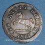 Monnaies Brunswick-Calenberg-Hanovre. Georges Louis (1698-1727). 4 mariengroschen 1714HCB Clausthal