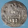 Monnaies Erfurt. Atelier de l'archevêque de Mayence. Adalbert I de Sarrebruck (1111-1137). Pfennig
