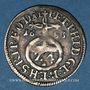 Monnaies Evêché de Bamberg. Pierre Philippe de Dernbach (1672-1683). 1/24 taler 1633AL