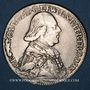 Monnaies Evêché de Wurzbourg. Georges Charles, baron de Fechenbach (1795-1802). 20 kreuzer 1796 MM