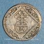 Monnaies Evêché de Wurzbourg. Jean Philippe II de Greiffenklau (1699-1719). 1/84 gulden (= körting) 1715 F