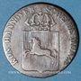 Monnaies Hanovre. Guillaume IV (1830-1837). 1/24 taler 1837 B
