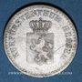 Monnaies Hesse-Cassel. Frédéric Guillaume (1847-1866). 1 gorschen 1857