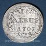 Monnaies Hesse-Darmstadt. Ernest Louis (1678-1739). 2 albus 1703 IAR