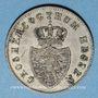 Monnaies Hesse. Louis II (1830-1848). 6 kreuzer 1834