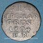 Monnaies Lippe-Detmold. Paul Alexandre Léopold (1802-51). 1 mariengroschen 1804