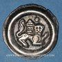 Monnaies Marche de Bade. Herman VI de Bade (1248-1250). Bractéate