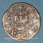 Monnaies Mecklembourg-Gustrow. Gustave Adolf (1636-1695). 3 pfennig