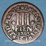 Monnaies Münster. Evêché. Frédéric Christian de Plettenberg (1688-1703). 3 pfennig 1703