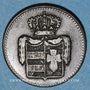Monnaies Oldenbourg. Paul Frédéric Auguste (1829-1853). 1/2 grote 1835
