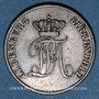 Monnaies Oldenbourg. Paul Frédéric Auguste (1829-1853). 2 pfennig 1848