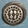 Monnaies Palatinat-Haut Palatinat. Pfennig de type strasbourgeois frappé à Heidelberg (1380-1409)