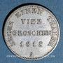 Monnaies Prusse. Frédéric Guillaume III (1797-1840). 1/6 taler (= 4 groschen) 1818 A
