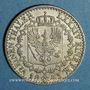 Monnaies Prusse. Frédéric Guillaume IV (1840-1861). 1/6 taler 1843 D