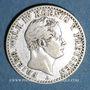 Monnaies Prusse. Frédéric Guillaume IV (1840-1861). 1/6 taler 1843A