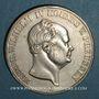 Monnaies Prusse. Frédéric Guillaume IV (1840-1861). Double taler 1855A