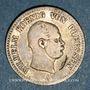 Monnaies Prusse. Guillaume I (1861-1888). 1/6 taler 1862A