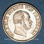 Monnaies Prusse. Guillaume I (1861-1888). 1 silbergroschen 1873A