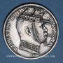 Monnaies Prusse. Guillaume I (1861-1888). Taler 1867A. Tête de Guillaume I regravée avec un chapeau...