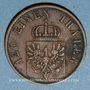 Monnaies Prusse. Guillaume I (1861-88). 3 pfennig 1870A