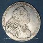 Monnaies Saxe. Frédéric Auguste II (1733-1763). 1/6 taler 1753