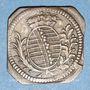 Monnaies Saxe-Hildbourghausen. Joseph, prince régent (1780-1787). 1 heller 1784