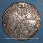Monnaies Saxe. Jean Georges I (1615-1656). 1/2 taler 1630. 100e anniversaire de la Confession d'Augsbourg