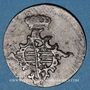 Monnaies Saxe-Weimar-Eisenach. Charles Auguste (1758-1828). 3 pfennig 1762 FS