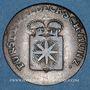 Monnaies Waldeck et Pyrmont. Charles Auguste Frédéric (1763-1812). 3 pfennig 1781 PS