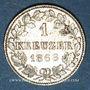 Monnaies Wurtemberg. Charles I (1864-1891). 1 kreuzer 1868