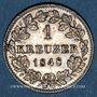 Monnaies Wurtemberg. Guillaume I (1816-1864). 1 kreuzer 1848