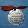 Monnaies 2e centenaire de la Réunion de l'Alsace à la France (traité de Westphalie). 1848. Médaille en étain