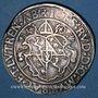 Monnaies Alsace. Abbaye de Murbach et Lure. Jean-Rodolphe Stoer de Stoerenberg (1542-70) Taler 1553 St Amarin