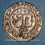 Monnaies Alsace. Abbaye de Murbach et Lure. Léopold V d'Autriche (1614-1626). 2 batz 1624, Guebwiller