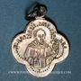 Monnaies Alsace. Altkirch. Eglise St Morand. Médaille argent (poinçon au crabe). Quadrilobée. 16,20x19,98 mm