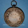 Monnaies Alsace. Cercle nautique de Strasbourg. 1920. Médaille bronze