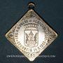 Monnaies Alsace. Cernay. Tournoi de gymnastique. 1902. Médaille laiton argenté
