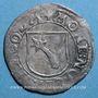 Monnaies Alsace. Colmar. 3 kreuzers n. d., à la titulature de Rodolphe II (1576-1612)