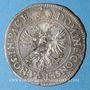 Monnaies Alsace. Colmar. Batz 1666