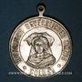 Monnaies Alsace. Colmar. Cortège historique. 1898. Médaille en laiton argenté.  29 mm