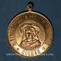 Monnaies Alsace. Colmar. Cortège historique. 1898. Médaille en laiton doré