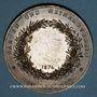 Monnaies Alsace. Colmar. Jardins et association viticole de Colmar. 1874. Médaille cuivre. 51,13 mm
