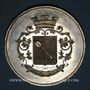 Monnaies Alsace. Colmar. Jardins et association viticole de Colmar. 1874. Médaille étain n. d. 51,28 mm