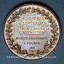 Monnaies Alsace. Colmar. Société centrale de vaccine. 1811 - Richard, médecin à Colmar. 1811. Argent. 40,44 m